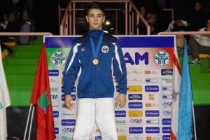 Giuseppe Leone in Croazia con la nazionale azzurra