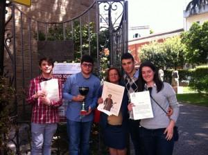 """Progetto Scuola 2013: """"Dante Alighieri"""" e """"Pasquale Marinelli"""""""
