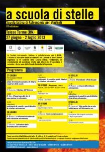 Scuola Estiva di Astronomia 2013