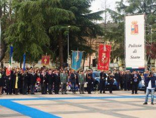 Festa annuale della Polizia di Stato celebratasi a Benevento